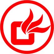 Heating flames